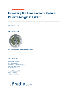 Estimating the Economically Optimal Reserve