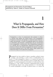 What Is Propaganda, and How Does It Differ From Persuasion?