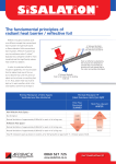 The fundamental principles of radiant heat barrier