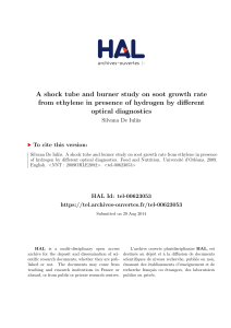 A shock tube and burner study on soot growth rate from