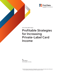 Profitable Strategies for Increasing Private-Label Card
