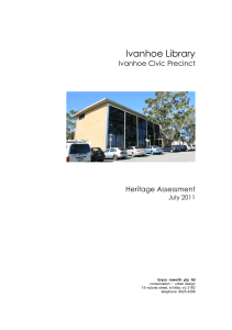 ivanhoe civic precinct 130711