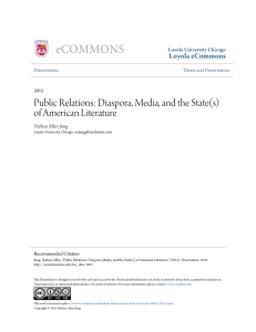 Public Relations: Diaspora, Media, and the State(s)
