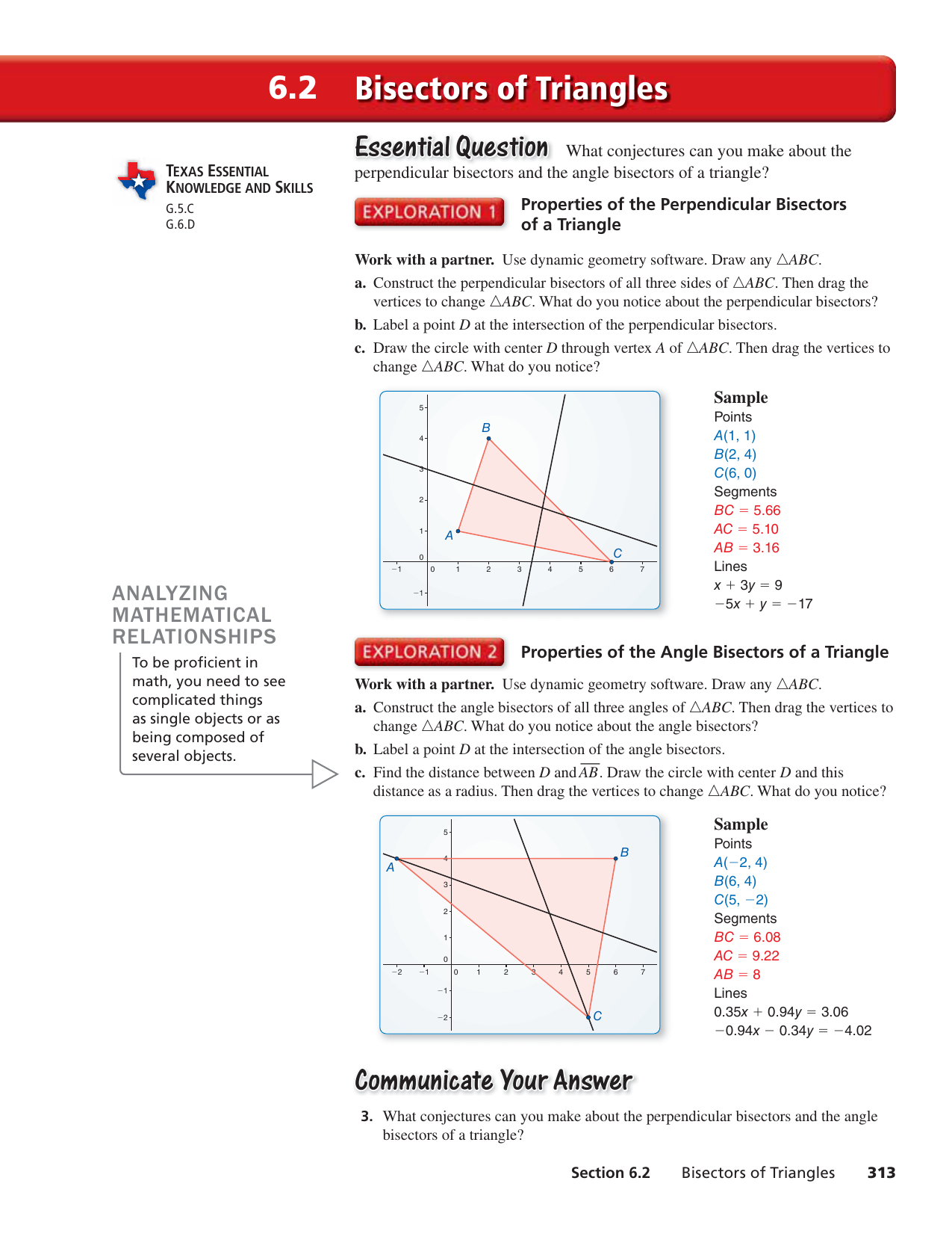 Perpendicular And Angle Bisectors Worksheet X4   My Worksheet