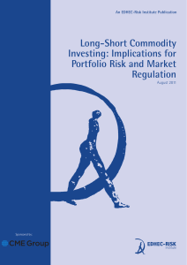 Long-Short Commodity Investing - EDHEC