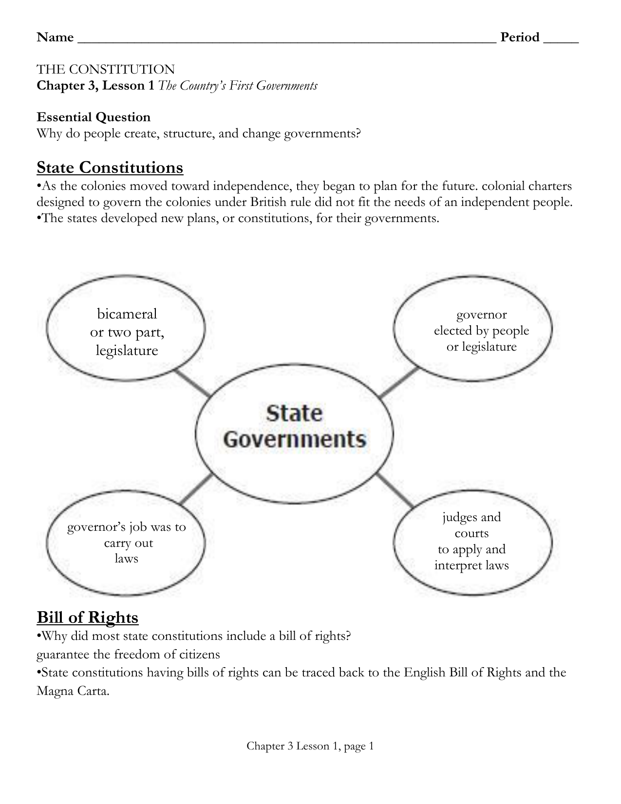 Why Government Worksheet Answers - Promotiontablecovers