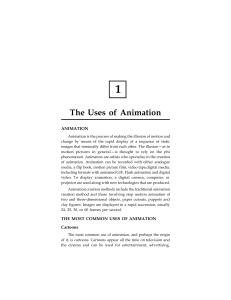 The Uses of Animation