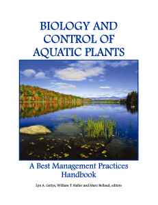 Cover individual pages.pub - Center for Aquatic and Invasive Plants