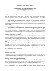 position paper - School of Computing