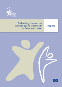 Estimating the costs of gender-based violence in the European