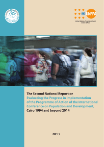 The Second National Report on Evaluating the Progress in
