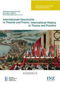 """Transnational History: Identities, Structures, States"", in"