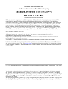 SRC review guide for general-purpose governments