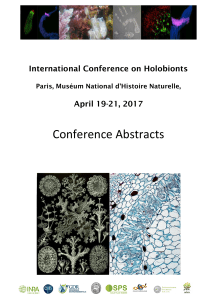 International Conference on Holobionts-abstractspdf