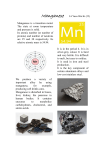 Manganese is a transition metal. The state at room