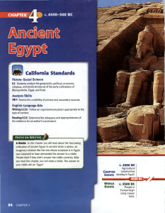 Ancient Egypt - Pineda Ancient History