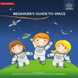 Space Information Booklet (English)