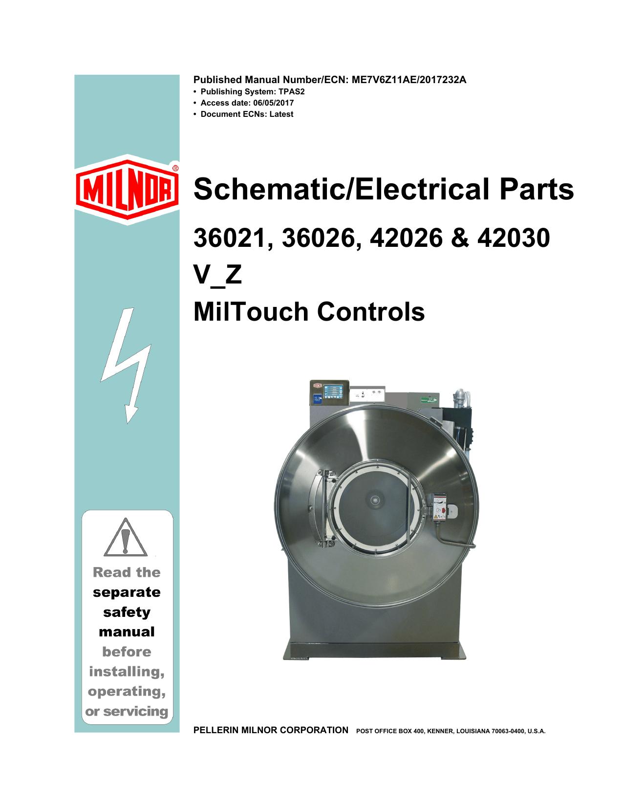 schematic electrical parts pellerin milnor corporation rh studyres com
