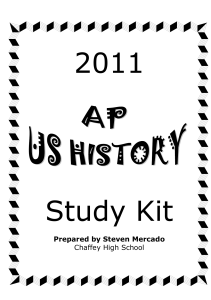 colonial era study guide