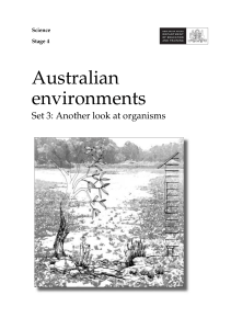 Australian environments - NSW Department of Education