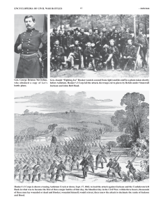 ENCYCLOPEDIA OF CIVIL WAR BATTLES 63