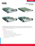 40/100 Gigabit Ethernet Load Modules