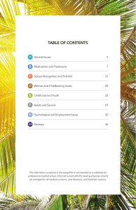 TABLE OF CONTENTS - Epilepsy Foundation of Florida
