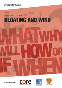 bloating and wind