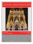 gothic architecture - Department of the History of Art and Architecture