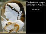The Power of Images in the Age of Augustus Lecture 32