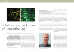 Solutions for the Future of Neurotherapy