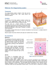 Defences: the integumentary system