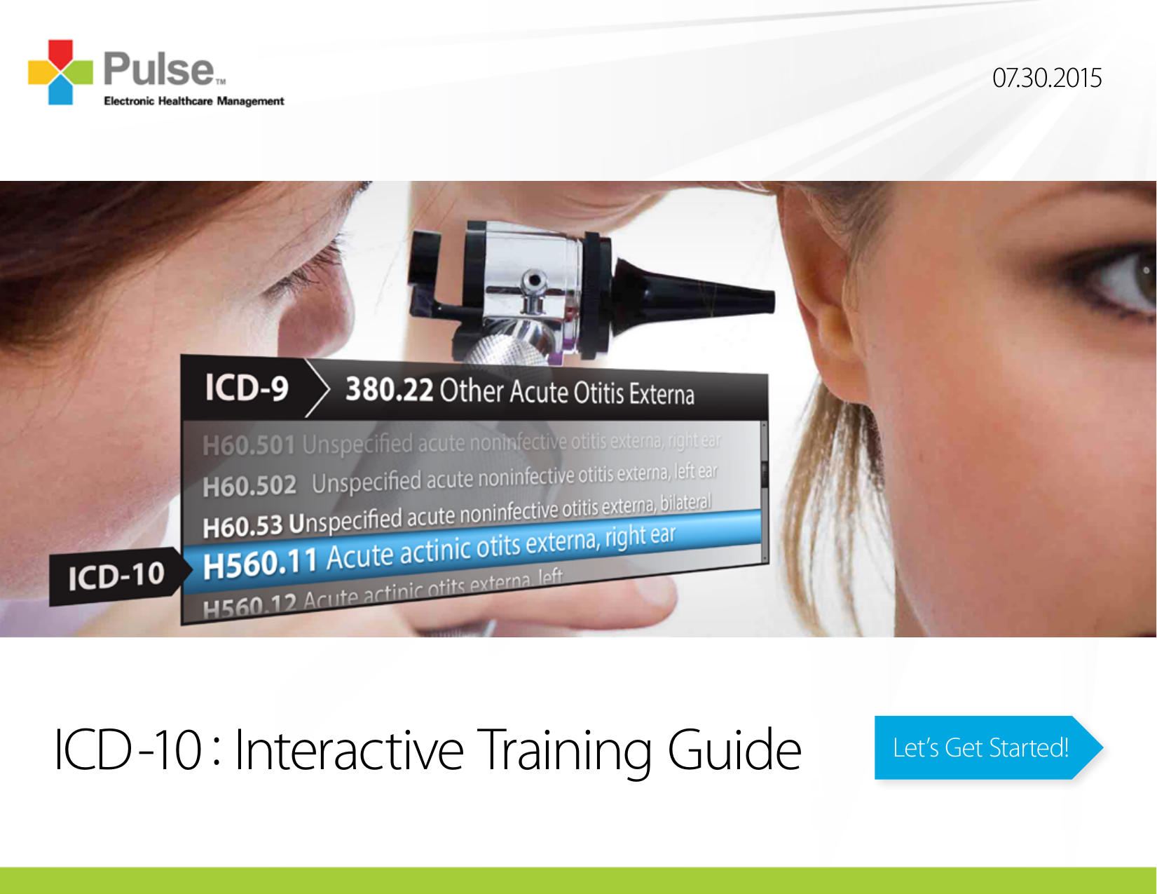 ICD-10 : Interactive Training Guide