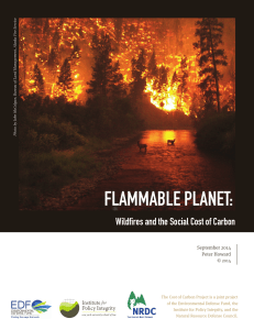 Flammable Planet - The Cost of Carbon Pollution
