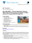 New WSLP0805...18 Power Metal Strip® Resistor Offers Eight Times