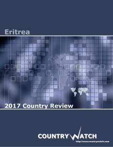 Eritrea - Country Watch