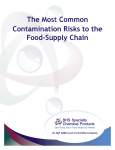 The Most Common Contamination Risks to the