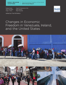 Changes in Economic Freedom in Venezuela, Ireland, and the