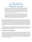 The Worlds of the Fifteenth Century
