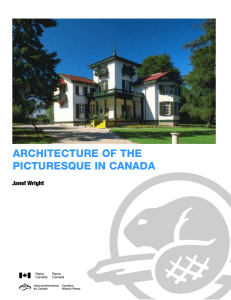Architecture of the Picturesque in Canada