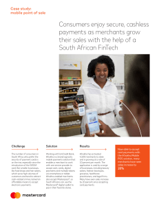 Consumers enjoy secure, cashless payments as merchants grow
