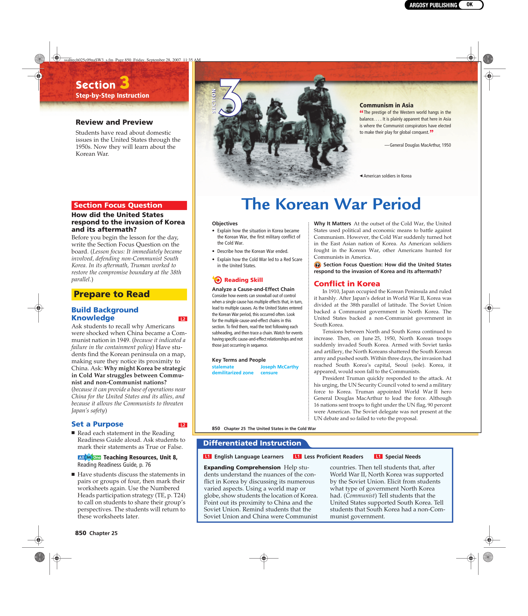 the war strategy in korean war essay The korean war is one of the most popular assignments among students' documents if you are stuck with writing or missing ideas, scroll down and find inspiration in.