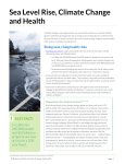 Sea Level Rise, Climate Change and Health