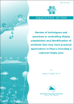 Review of techniques and practices in controlling tilapia populations