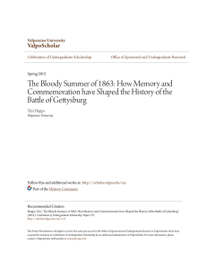 The Bloody Summer of 1863: How Memory and