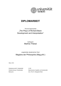diplomarbeit - E-Theses