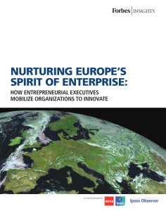 nurturing europe`s spirit of enterprise