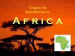 1. Africa`s - Spring Branch ISD