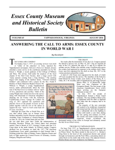 Bulletin Vol 63-2 - Essex County Museum