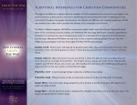 DOWNLOAD Scriptural References for Christian Communities